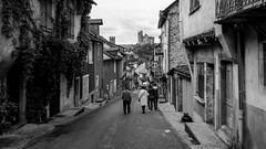 Najac main street (Najac, France) (olivierr31) Tags: aveyron castel château gorges monteils najac