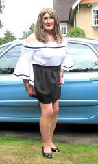 Janebrdotcar-001 (fionaxxcd) Tags: transvestite tranny trannie m2f mtf ladyboy crossdresser crossdressing bust longhair blackpatentshoes bardottop
