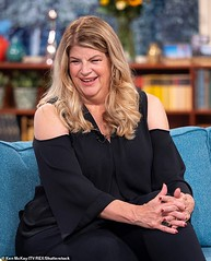 CBB's Kirstie Alley wants to 'sh*g' Ryan Thomas' brother Scott Lady Gaga (Cate Blanchett) Tags: this morning tv show london uk 12 sep 2018 kirstie alley actor female televisionshow personality 74453424