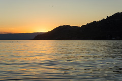 Sunset (bertrandwaridel) Tags: 2018 august lakegeneva lakeleman switzerland vaud vevey lake summer sunset sunsetlight water suisse