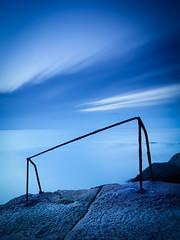 _1166295 (Pekko Ahlsten) Tags: ireland dublin dunlaoghaire fortyfoot longexposure longshutter seascape landscape eire bluehour sunrise travel sea leelittlestopper leefilter