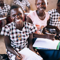 Photo of the Day (Peace Gospel) Tags: portrait child children kids cute adorable smiles smiling happy happiness joy joyful peace peaceful hope hopeful thankful grateful gratitude school uniforms classroom students writing learning studying education empowerment empowered