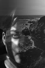 Portrait rock (https://tinyurl.com/jsebouvi) Tags: rockportrait wave blackandwhite eye eyes ear jsebouvi top best doubleexposure light art artist creation sea ocean new original rock