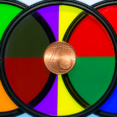 Revisiting a good idea / Life is full of colors (Özgür Gürgey) Tags: 105mm 2018 d7100 macromondays multicolor nikon sigma circles coin filter macro square istanbul tripod flash