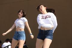 2018_AF_2614 (Knox Triathlon Dude) Tags: 2018 dance korean croptop croppedtop belly abs festival usa bellybutton shorts denim bellyshirt