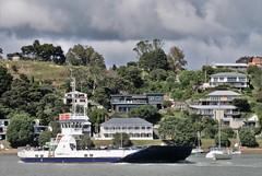 Bay of Islands, NZ - Opua to Okiato Car Ferry (zorro1945) Tags: opua okiato nz bayofislands northisland newzealand ferry carferry opuatookiatoferry flickrunitedaward