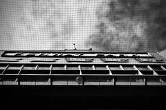 Fenway (Crawford Brian) Tags: fenwaypark sign mlb baseball stadium ballpark sky net bw blackandwhite monochrome clouds nrhp nationalregisterofhistoricplaces americana america boston landmark historic architecture