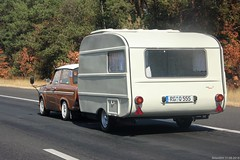 Trabant 601 with QEK Junior caravan (RG-Q555) (MilanWH) Tags: trabant 601 qek junior caravan rgq555