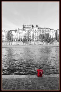 Paris sur les bords de Seine - septembre 2018