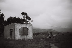 Old Building (Semjaja) Tags: blackandwhite blackandwhitefilm voigtlander voigtlanderprominent nokton nokton1550mm nokton50mm ilford ilfordpanf panf 35mm 35mmcamera 35mmfilm film filmlives filmsnotdead filmphotography filmcamera ruraldecay classiccamera paarl southafrica