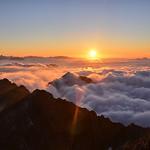 Pic du midi - coucher de soleil thumbnail