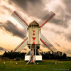 Molen De Heerser (cstevens2) Tags: belgique belgium belgië molendeheerser nieuwemolen retie cornmill korenwindmolen clouds vlaanderen erfgoed heritage kempen wolken
