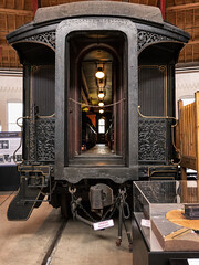Heavy Coach (PAJ880) Tags: 19th century passenger coach bo railroad museum baltimore md heavyweight railcar
