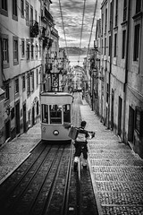 An early-morning walk is a blessing for the whole day. ~ Henry David Thoreau (ercan.cetin) Tags: streetphotography strassenfotografie strasse siyahbeyaz olympus flickr blackandwhite blackwhite bw portugal lisbon lisboa street strassenfoto streetphoto streetexpressions streesexpressions streetart