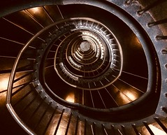 Stairwell, Zeitz Museum (Goggins World) Tags: zeitzmuseum stairwell spiral