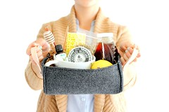 Basket Gifts : DIY Faux Industrial Felt Basket TUTORIAL | delia creates | Bloglovin' (giftsmaps.com) Tags: gifts