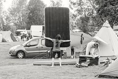 Un été au camping # L'installation du couchage