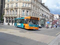 Cardiff Bus 394 (Welsh Bus 18) Tags: cardiffbus transbus dart slf super pointer 2 394 ce02uvl stmarysstreet cardiff b41f