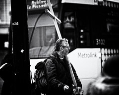 Cross Carrier (JEFF CARR IMAGES) Tags: northwestengland manchester streetlife urbanlandscapes