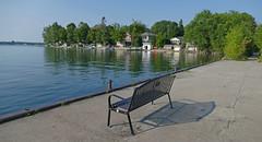 Innisfil dock..HBM! (wessexman...(Mike)) Tags: infocus highquality hbm bench lake lakesimcoe ontario reflections innisfil