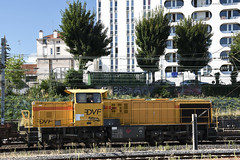 Vossloh G 1206 BB (Alexandre Prévot) Tags: travaux construction chantier worksite buildingsite construcción baustellebauplatz cugn grandnancy lorraine locomotive locomotivediesel vosslohlocomotivesgmbh bahninfrastruktur lokomotive train