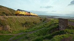 Testing My Patience (Richie B.) Tags: 1q47 moss bay salterbeck workington cumbria colas rail english electric british class 37 37175