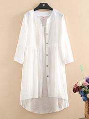 Women Long Sleeve Buttons Down Stitching Shirt (1316674) #Banggood (SuperDeals.BG) Tags: superdeals banggood clothing apparel women long sleeve buttons down stitching shirt 1316674
