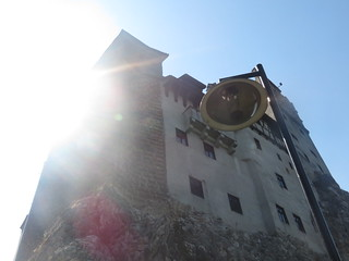 Going to Dracula's castle...