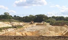 New quarry. (wurzel.pete.3.7 Million views,Ta!) Tags: 7918 northparkquarry sebelco quarry hole sand digging uk warwickwold surrey wild walk trees sky canon7d