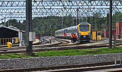 Giving It The Once Over (whosoever2) Tags: uk united kingdom gb great britain england nikon d7100 train railway railroad september 2018 caf class331 331001 emu liverpool edgehill northern rail