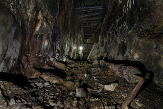 Exploring old mines.