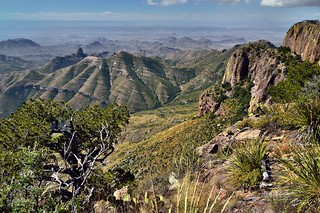 Peaks and Mountainsides of the Chisos Mountains (Big Bend National Park)