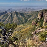 Peaks and Mountainsides of the Chisos Mountains (Big Bend National Park) thumbnail