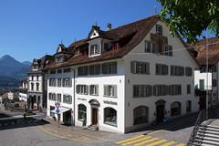Schwyz architecture (Krzysztof D.) Tags: szwajcaria schweiz suisse svizzera svizra europe europa schwyz architecture architektura
