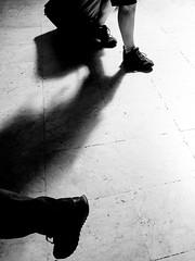 In a hurry (Francisco (PortoPortugal)) Tags: 1902018 20180726fpbo8661 luz light shadow sombra pessoas people bw nb pb monochrome monocromático franciscooliveira