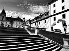 Valtice | Czech Republic (maryduniants) Tags: castle blackandwhite morava czechrepublic white black valtice cz czech