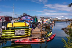 The Wonderful Things They Make From Oil  ;-) (MIKOFOX ⌘ Thanks 4 Your Faves!) Tags: canada showyourexif mikofox harbor xt2 water vancouverisland learnfromexif july kayaks provia tourism fujifilmxt2 houseboats britishcolumbia summer xf18135mmf3556rlmoiswr