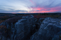 Pink Above the Dolly Sods (Ken Krach Photography) Tags: westvirginia