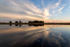 Double landscape (Pieter ( PPoot )) Tags: reflection double landscape