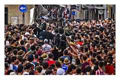 jaleo / jump to you (Luis kBAU) Tags: fiesta jaleo menorca caballos caxiers maó mahon