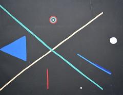 """First"" (Kate O'Kina) Tags: paintins paint canvas black abstract art artist painter kateokina"