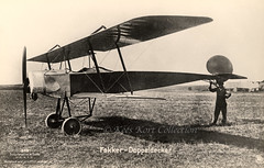 The Fokker M.7 two-seater prototype built for the German Navy [Germany, 1915] (Kees Kort Collection) Tags: 18 1915 343 biplane fokker m7 sanke prototype