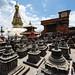 Chaityas at Swayambhunath