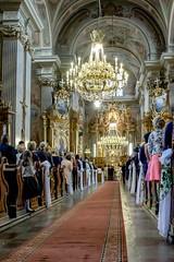 (chrisisageek) Tags: poland polska польша warsaw warszawa варшава staremiasto oldtown catholic katolicki church kościół historic hdr wedding bride groom ceremony