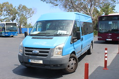 Zenon Transit. (steve vallance coach and bus) Tags: kyb680 fordtransit zenonbuses larnaca cyprus