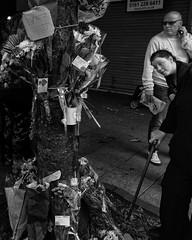 Murder tributes (JEFF CARR IMAGES) Tags: marketplace northwestengland streetlife ashtonunderlyne