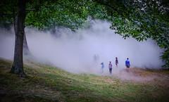 FogXFLO Jamaica Pond (ErikAndHisCamera) Tags: jamaicapond olmsted brookline jamaicaplain fog beach boston fogbeach fogxflo