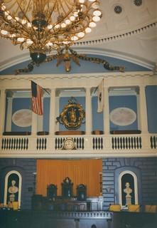 Boston Massachusetts  - State Capitol of Massachusetts  -  Senate Chambers