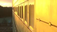 Varmt vintersolståndsljus smeker  B-huset (Linzen004) Tags: soluppgång stockholmsuniversitet