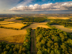 As the storm rolls in. (Darren Flinders) Tags: rotherham england unitedkingdom gb needleseye monument clouds cloudporn storm drone dronephotography djiphantom4 hdr photomatix stormclouds summer goldenhour trees fields countryside rotherhamdistrict